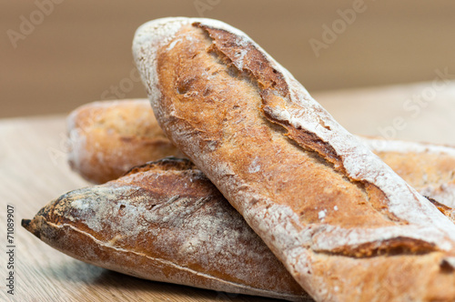 Staande foto Brood Bread-French baguettes