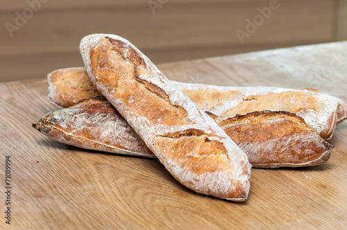 Fotobehang Brood Bread-French baguettes