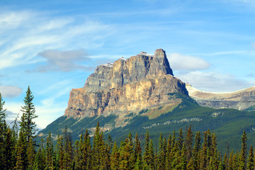 Castle Mountain Banff National Park