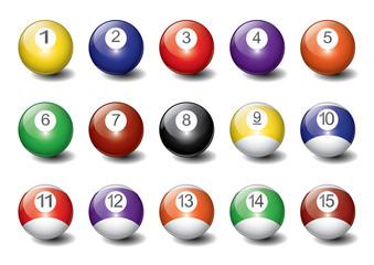 Realistic Vector Billiard Balls