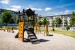 Children playground in nature - 71090765