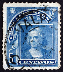 Postage stamp Chile 1905 Christopher Columbus, Explorer