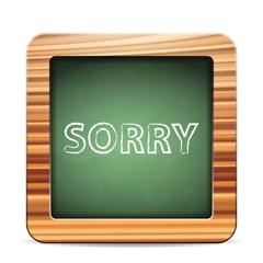 blackboard sorry