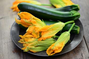 Teller Zucchini