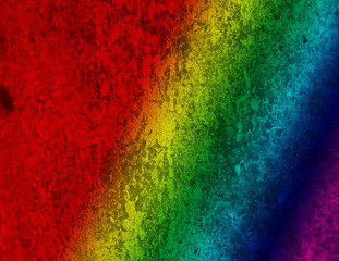 A textured rainbow background image