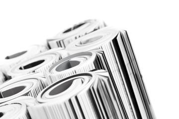Magazines - close up