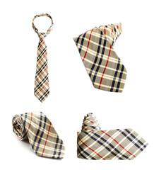Set of four ties