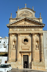 Ostuni, chiesa Madonna del Carmine