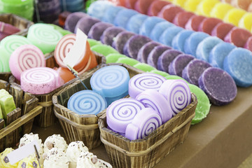 Soaps artisans colors