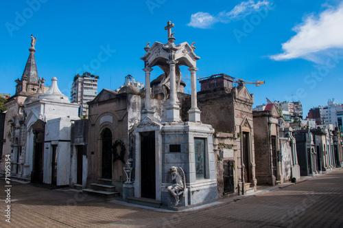 Staande foto Begraafplaats La Recoleta cemetery in Buenos Aires, Argentina