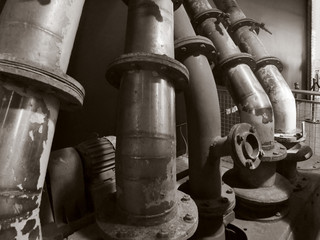 historic pipes