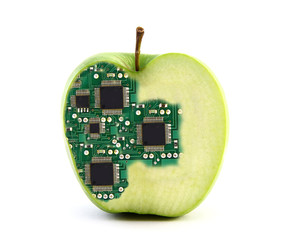 Electronic apple