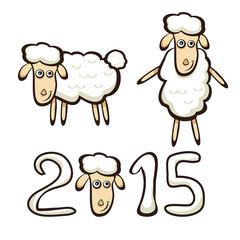 New Years sheep