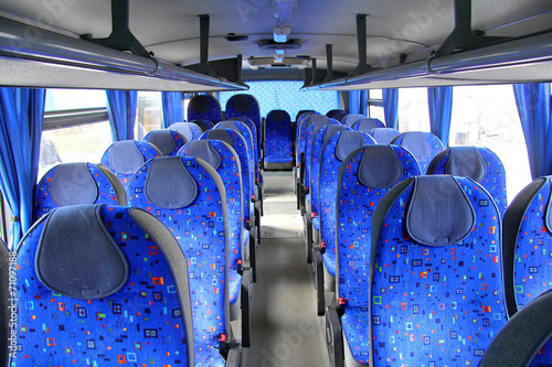 Interior of a coach
