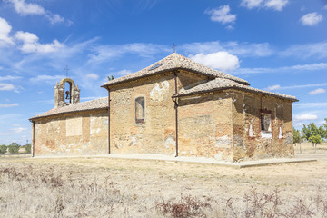 Virgen de Perales church - Bercianos del Real Camino, Spain