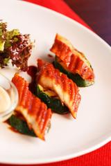 eel appetizer