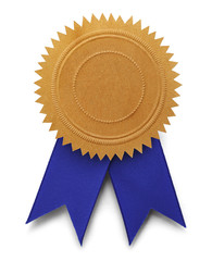 Gold Seal Blue Ribbon
