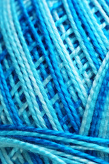 Wool rope close-up background