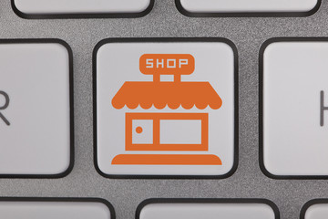 Online Shopping Sale Computer Key