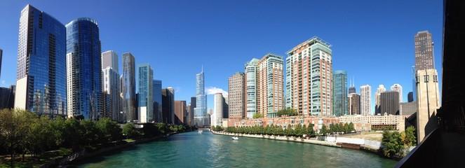 Chicago ponti fiume crociera