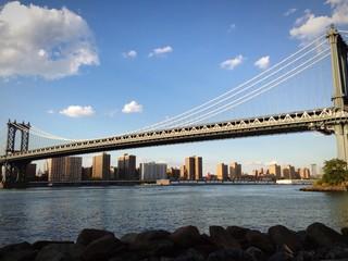 New York Dumbo East river Manhattan Bridge