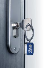 Key of the danger