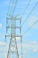 Photos of high voltage poles