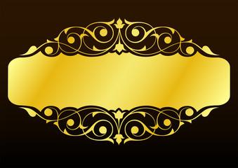 Desen  ( altın )