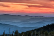 Sunset in the Smokies - 71104377