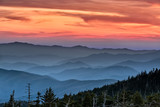 Sunset in the Smokies