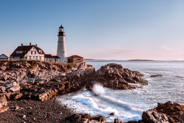Morning at the lighthouse