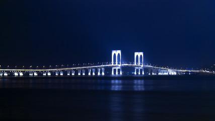Sai Van Bridge at Night.