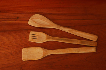 wooden kitchen utensil