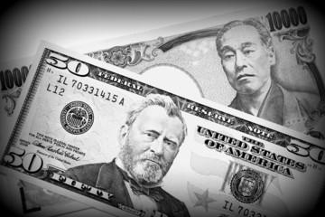 通貨レートの変動イメージ
