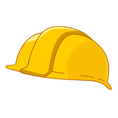 safety hat isolated illustration