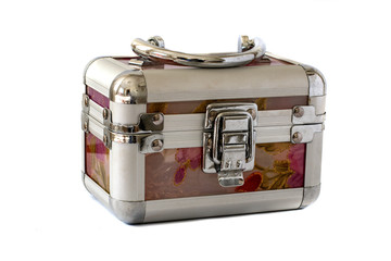 Trunk for ladies' accessories