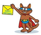 Tomcat, felicitation poster