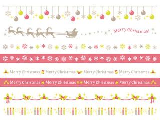 クリスマス 装飾 ライン