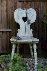 dekorativer alter Sessel