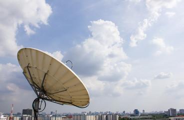 Satellite Dish for Telecommunications