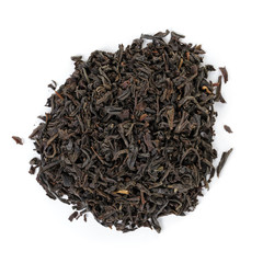 heap of black dry tea