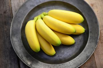 Teller Bananen