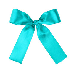 turquoise blue ribbon to put on your present