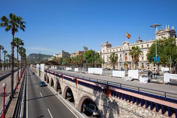 Ronda Litoral Motorway in Barcelona