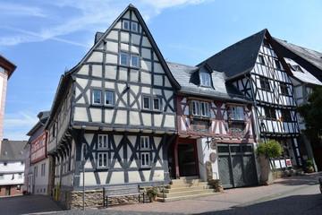 prächtige alte Fachwerkhäuser in Bad Camberg