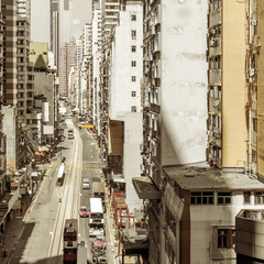 Hong Kong residential area