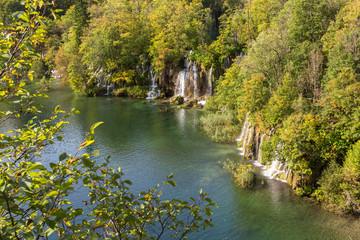Lacs supérieurs de Plitvice-Plitvicka et cascade