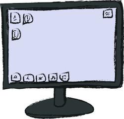 doodle screen computer