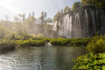 Cascades et chutes de Plitvice-Plitvicka