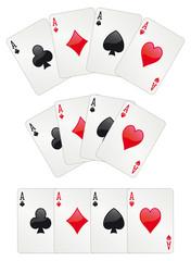 Three aces poker